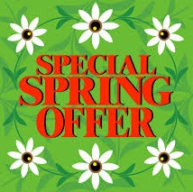 2021 Spring Specials